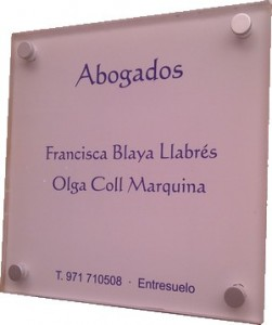 placas de empresa