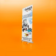 Roll up expositor arrollable
